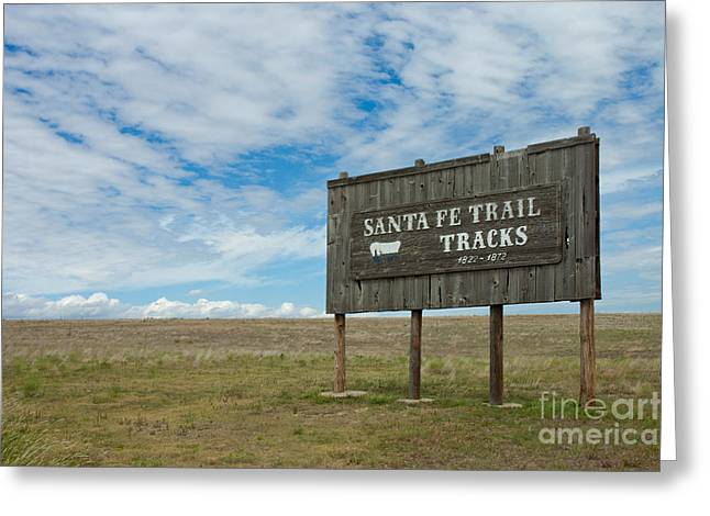 Santa Fe Trail Greeting Card by Richard and Ellen Thane