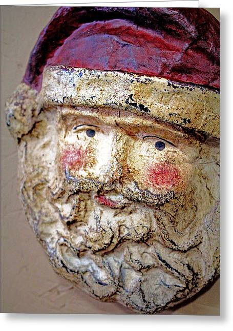 Greeting Card featuring the photograph Santa by Lynn Sprowl