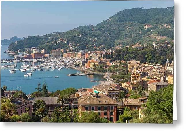 Santa Margherita Ligure, Italy Greeting Card