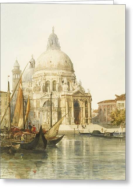 Santa Maria Della Salute Greeting Card