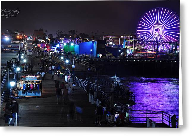 Santa Monica Pier 5 Greeting Card