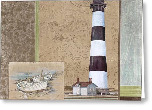 Santa Rosa Lighthouse I Greeting Card by Paul Brent