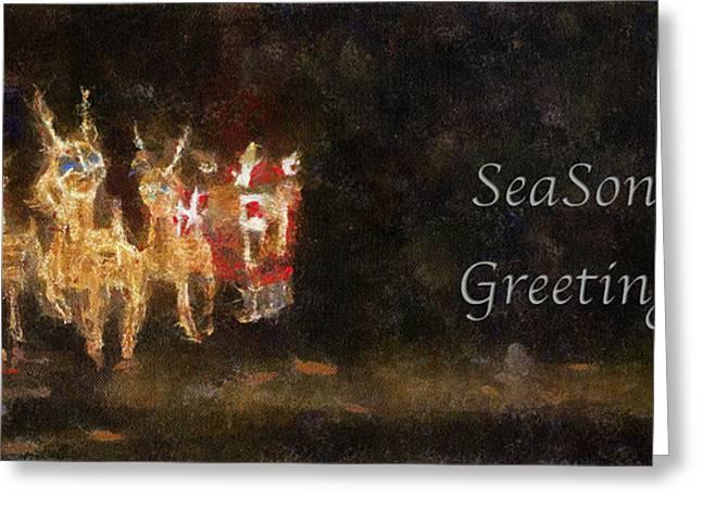 5x7 greeting cards page 8 of 27 fine art america santa season greetings photo art greeting card m4hsunfo