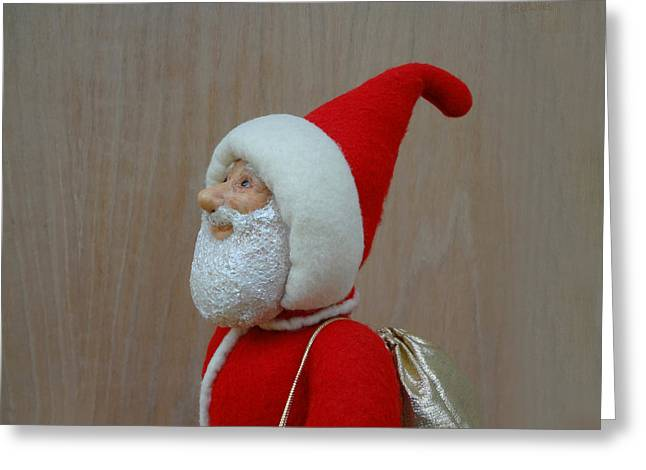 Santa Sr. - Keeping The Faith Greeting Card