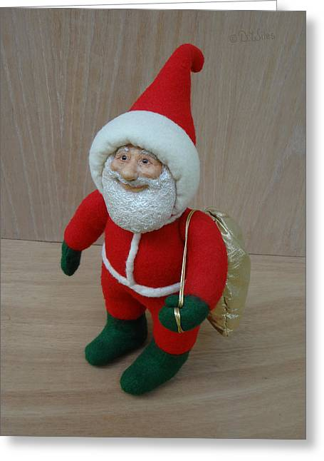 Santa Sr. - Ready To Go Greeting Card