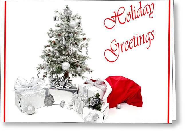Santas Bag Greeting Card