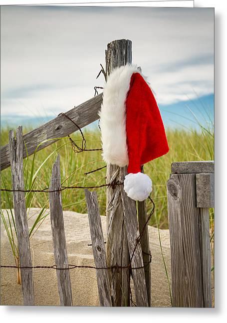 Santa's Downtime Greeting Card