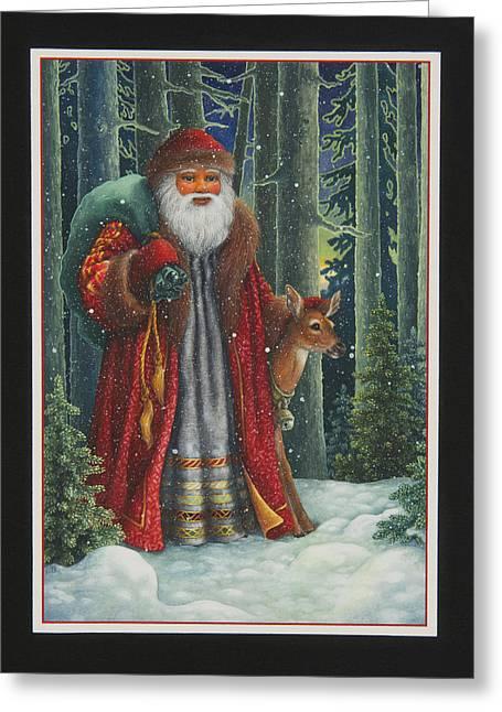 Santa's Journey Greeting Card