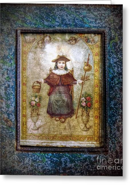 Santo Nino De Atocha Greeting Card