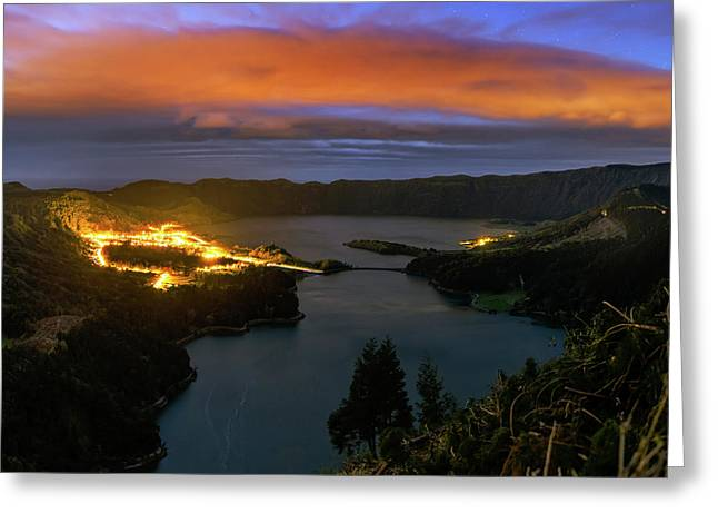 Sao Miguel Island Greeting Card