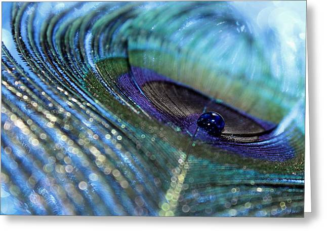 Saphire Blues Greeting Card