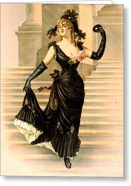 Sapho 1900 Greeting Card by Padre Art
