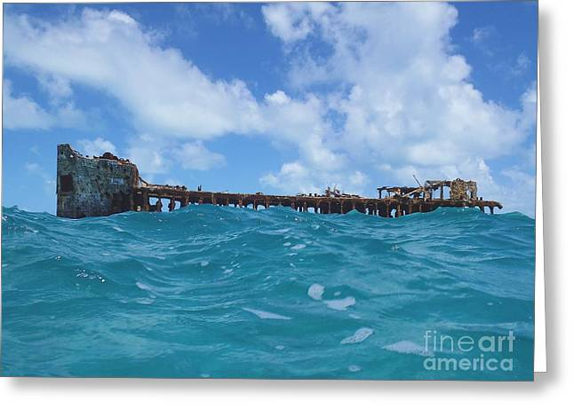 Sapona Bahamas Greeting Card by Carey Chen