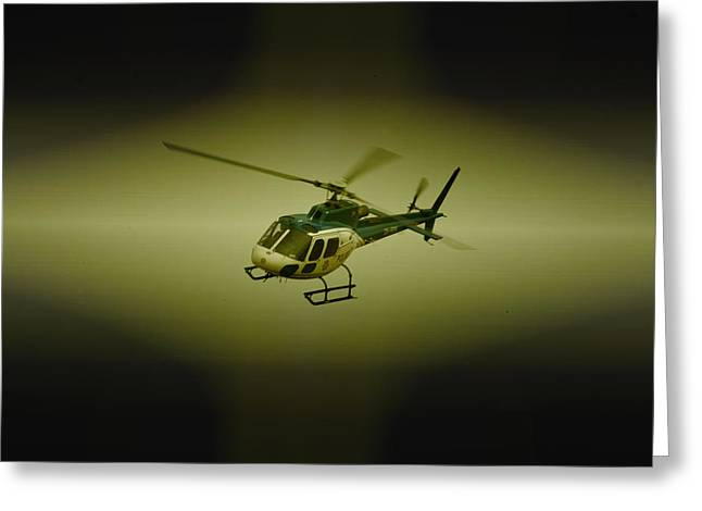 Saps Air Wing Greeting Card by Paul Job