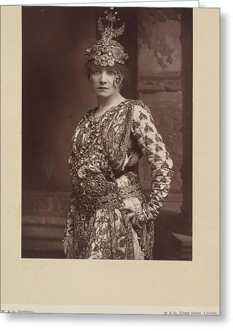 Sarah Bernhardt Greeting Card by British Library