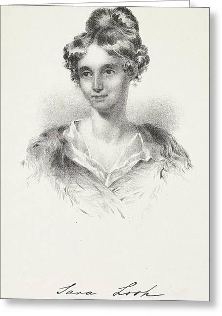 Sarah Losh Greeting Card by British Library