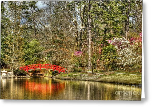 Sarah P. Duke Gardens Greeting Card by Benanne Stiens