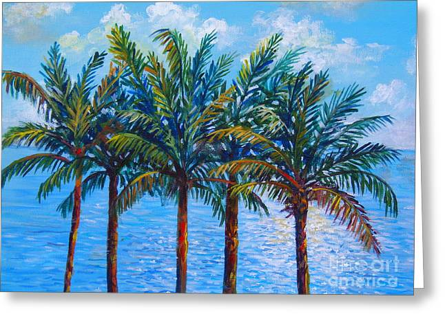 Sarasota Palms Greeting Card