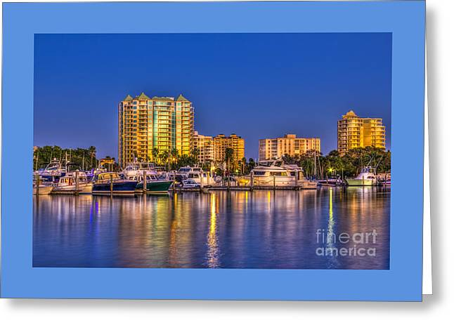 Sarasota Skyline Greeting Card