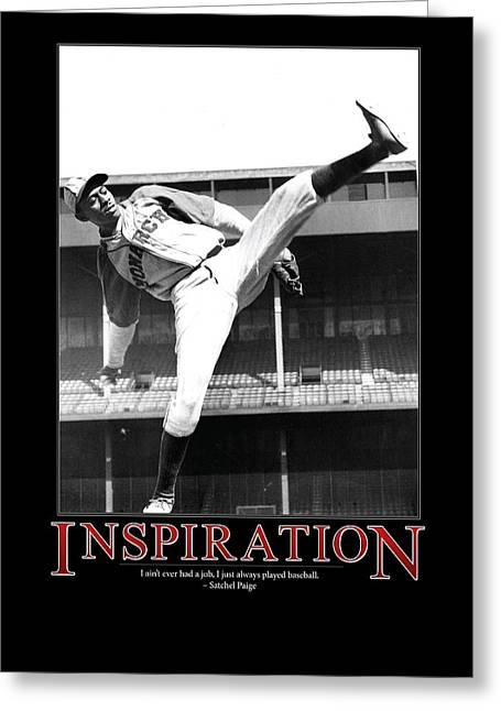 Satchel Paige Inspiration Greeting Card by Retro Images Archive