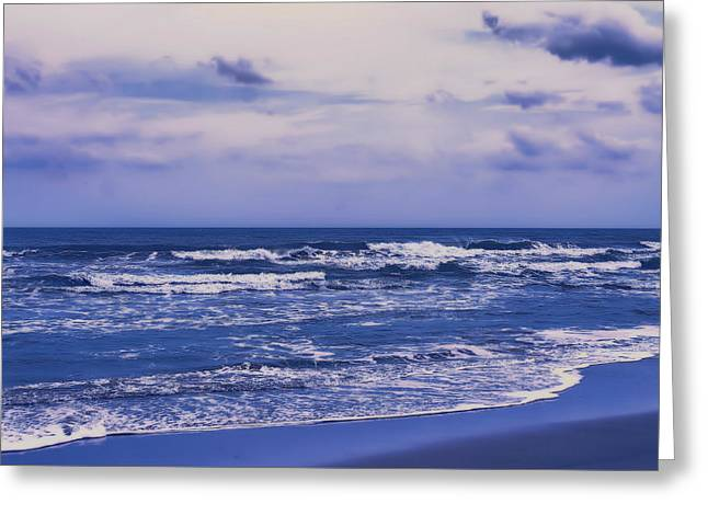 Satellite Beach Florida After Dinner Greeting Card