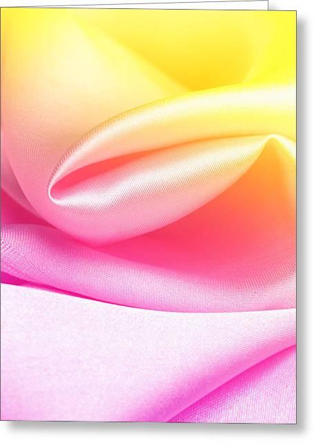 Satin Greeting Card by Janaka Dharmasena