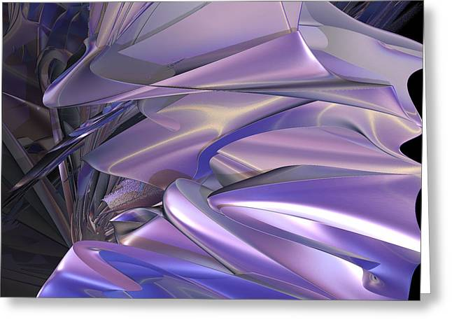 Satin Wing By Jammer Greeting Card by First Star Art
