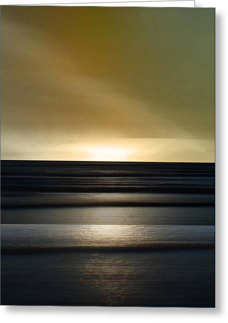 Sauble Beach - Twilight Greeting Card