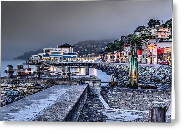 Sausalito Waterfront 3 Greeting Card