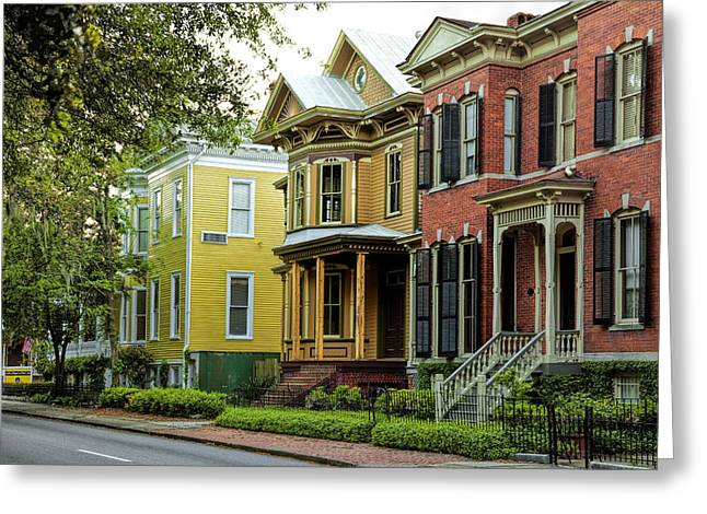 Savannah Architecture Greeting Card