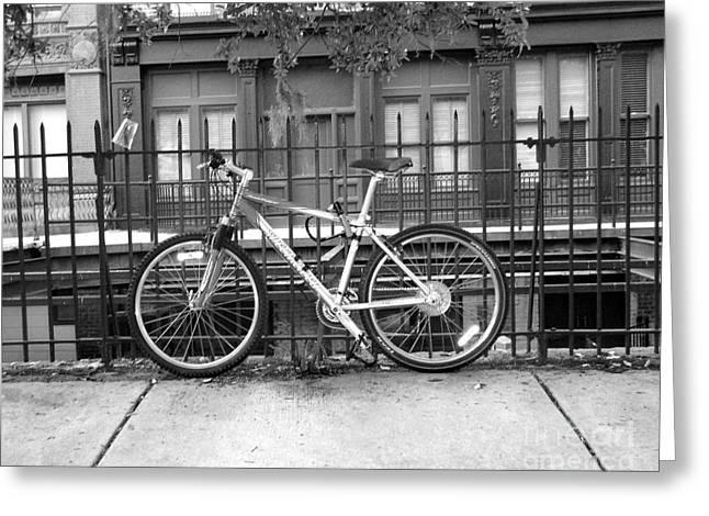 Savannah Bike  Greeting Card by Janet Felts