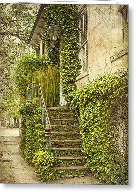 Savannah Doorway 1 Greeting Card