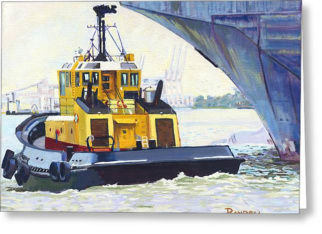 Savannah Escort Greeting Card by David Randall