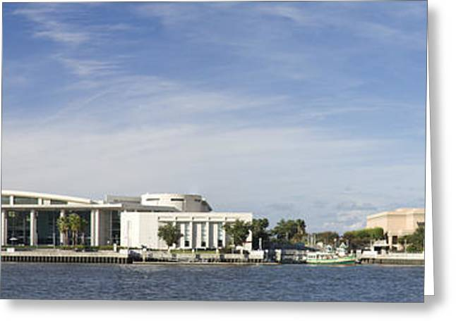 Savannah Ga Convention Center Pano Greeting Card