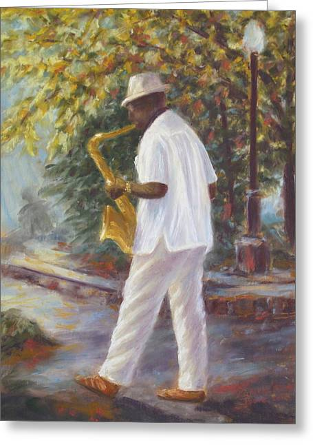 Savannah Jazz Greeting Card