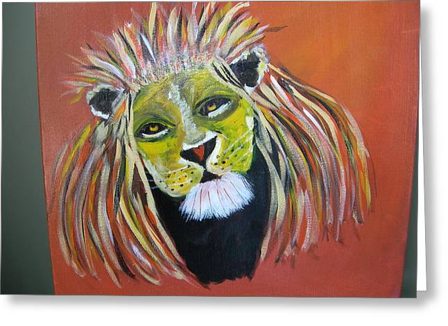 Savannah Lord Greeting Card by Sharyn Winters