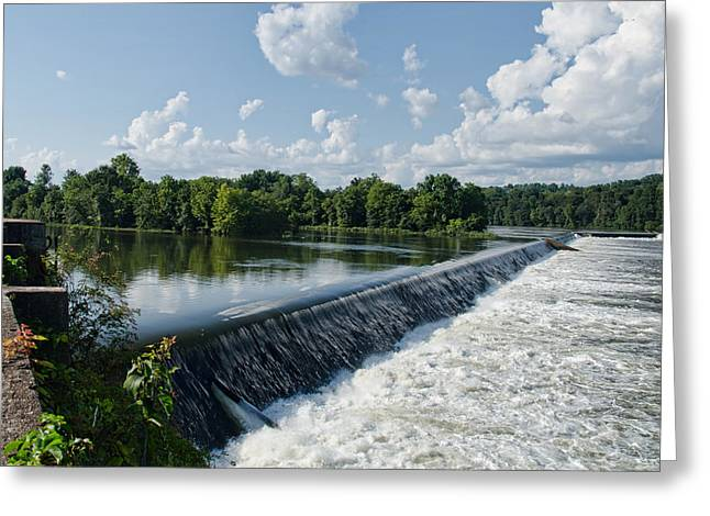 Savannah Rapids Greeting Card