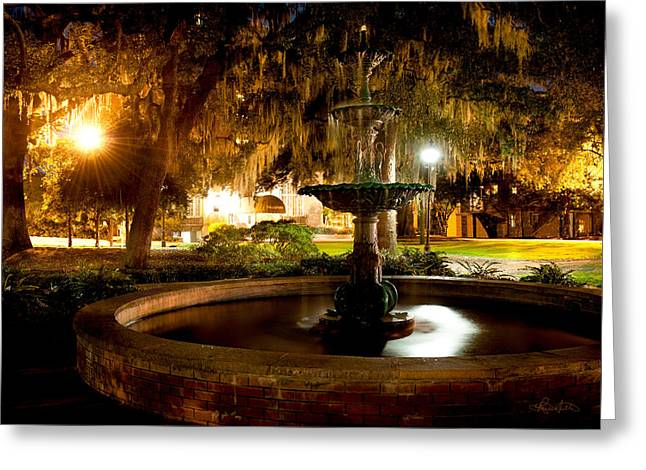 Savannah Romance Greeting Card