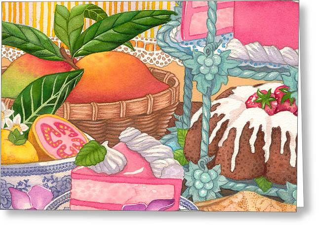 Save Room For Desert Greeting Card by Tammy Yee