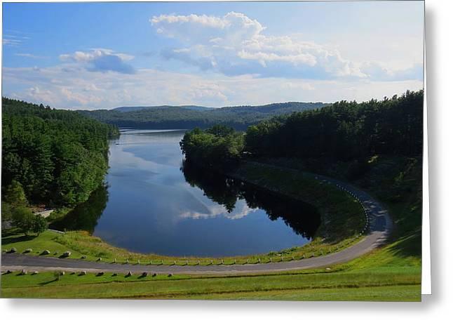 Saville Dam Scenic Greeting Card