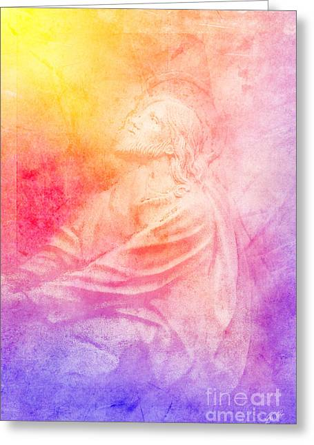 Savior  Greeting Card by Erika Weber