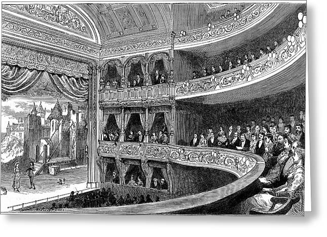 Savoy Theatre Greeting Card by Universal History Archive/uig