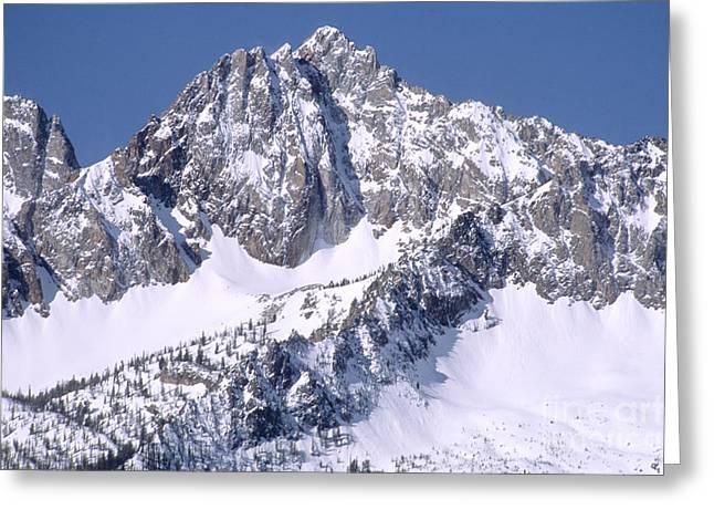 Sawtooth Mountains, Id Greeting Card