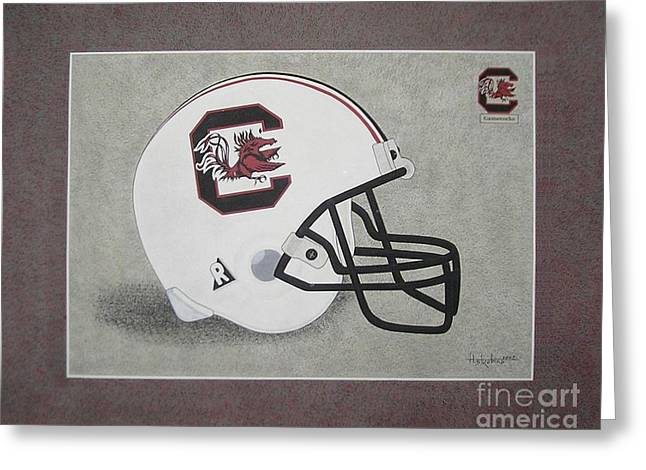 S.c. Gamecocks T-shirt Greeting Card