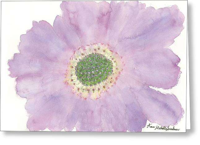 Scabiosa Greeting Card