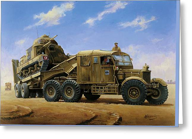 Scammell Pioneer 1942. Greeting Card