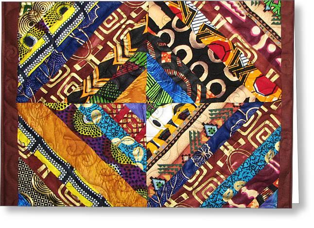 Scandalous Greeting Card by Aisha Lumumba