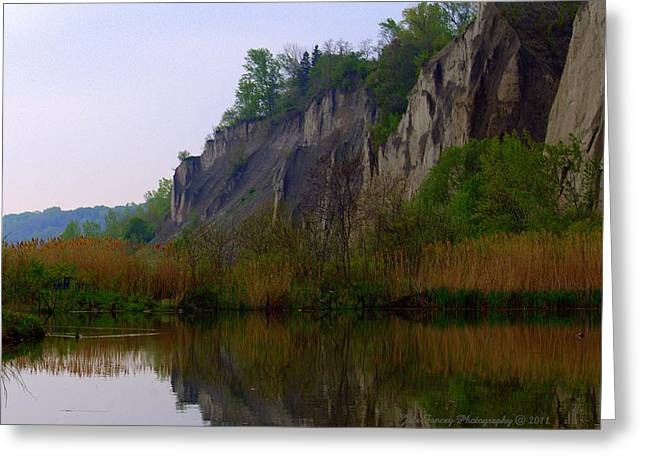 Scarborough Bluffs Greeting Card