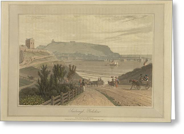 Scarborough Greeting Card by British Library