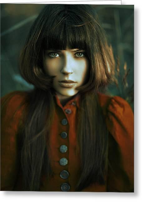 Scarlet Greeting Card by Alexander Kuzmin
